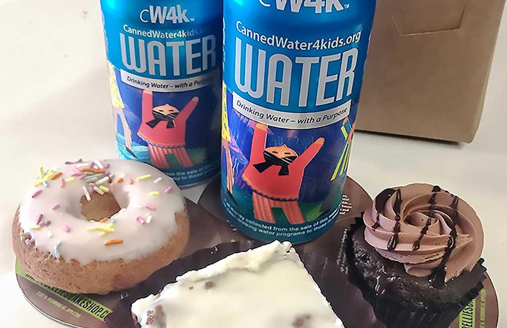 Happy Bellies Bake Shop adds CW4K water