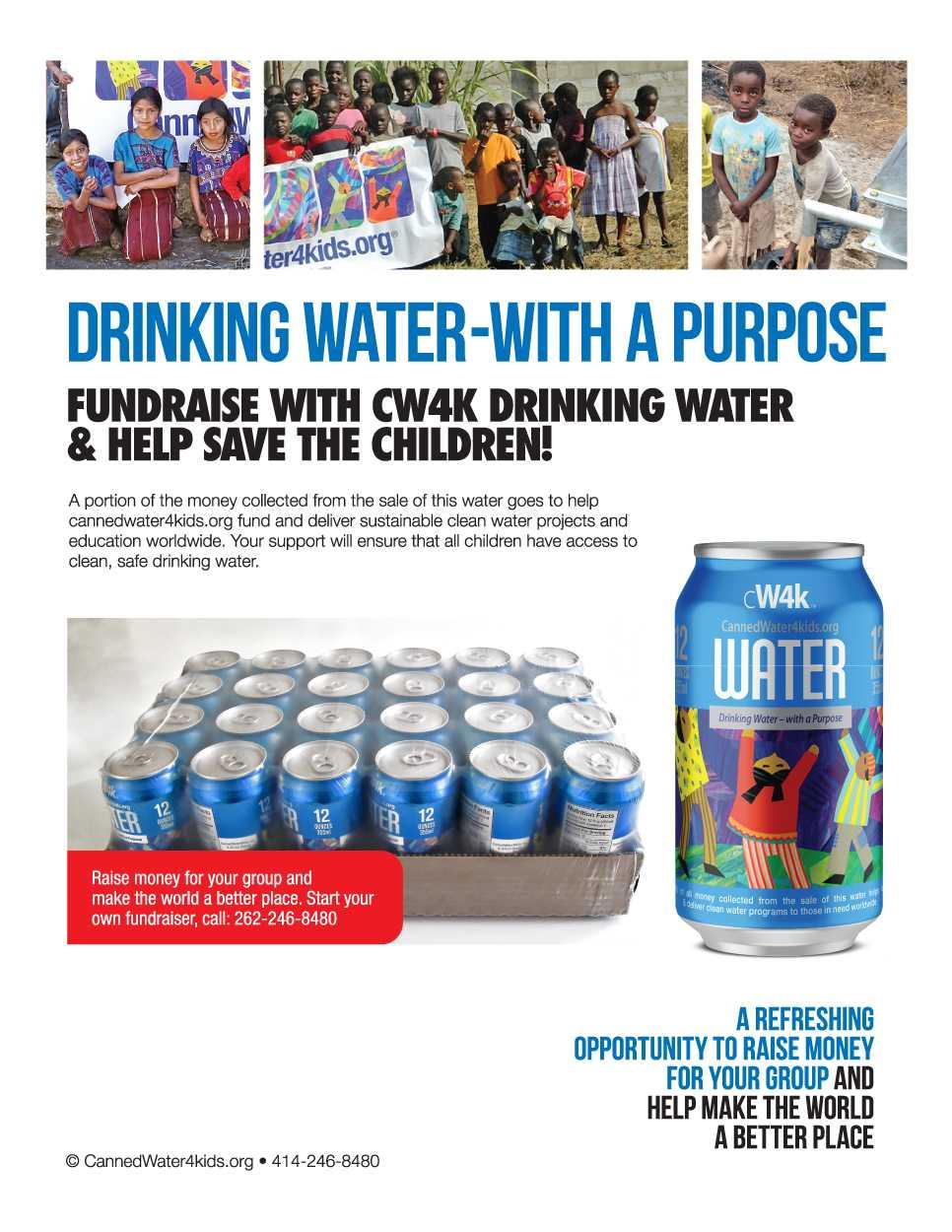 CW4K Fundraising Sheet