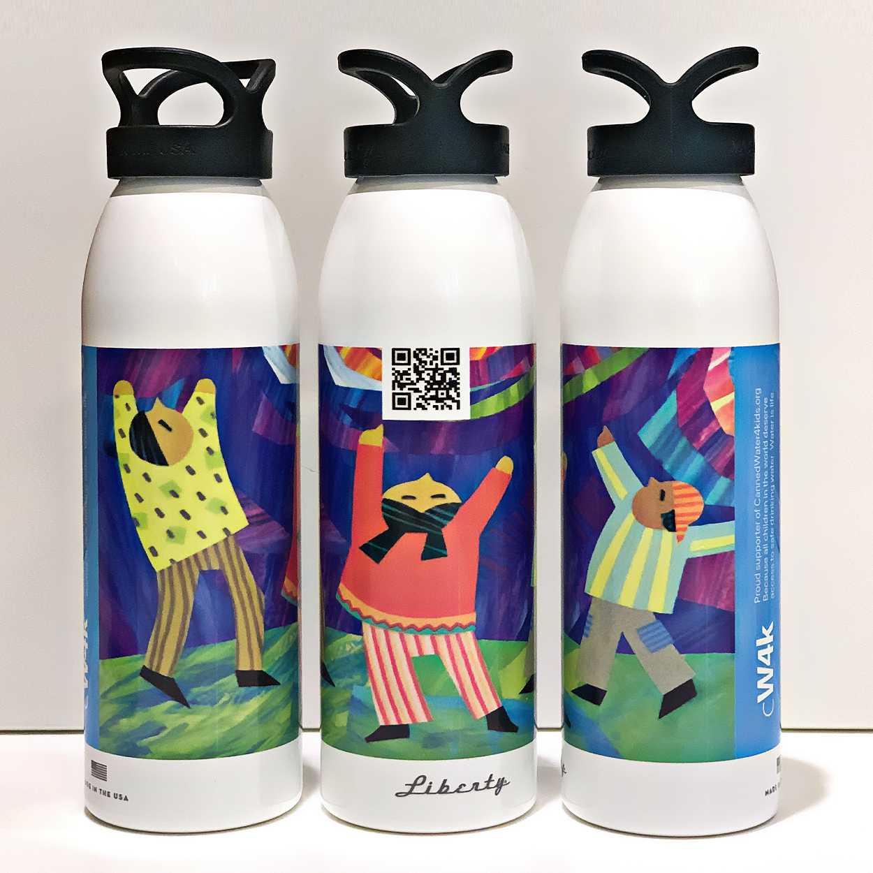 Original 24-ounce CW4K Aluminum Water Bottle